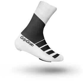 GripGrab RaceAero TT Shoe Covers Black/White